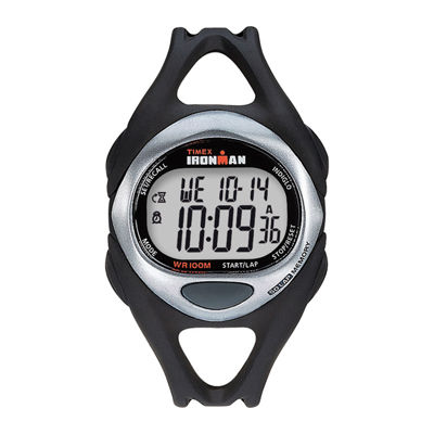 Timex® Ironman Mens Black Resin Strap 50-Lap Watch T542819J
