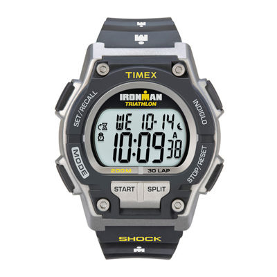 Timex® Ironman Endure Mens Black Resin Strap 30-Lap Watch T5K1959J
