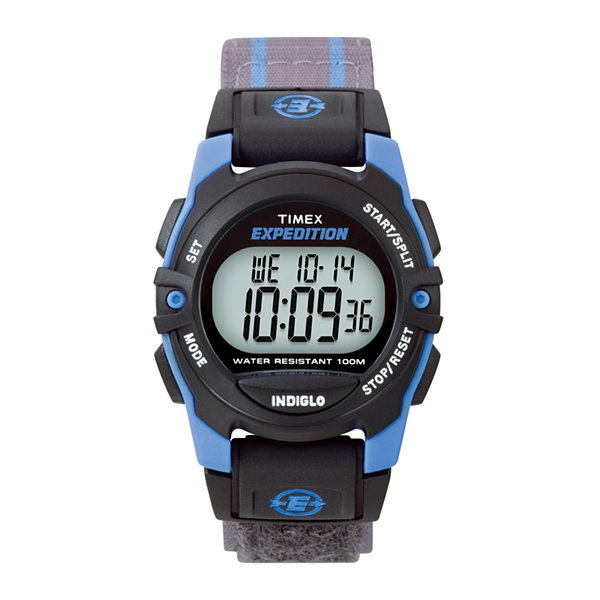 Timex® Expedition® Gray Nylon Fast Strap Digital Watch T496609J