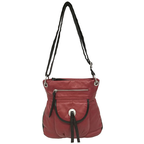 St. John's Bay Medallion Crossbody Bag
