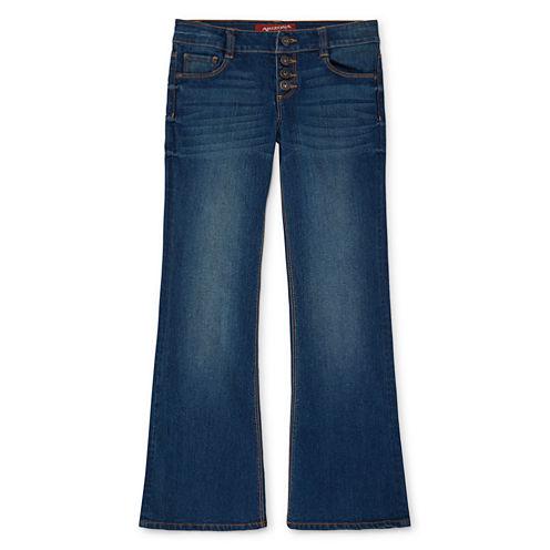 Arizona Fashion Flare Jean - Girls 7-16 and Plus