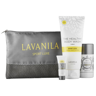 LAVANILA's The Ultimate Sport Luxe Set