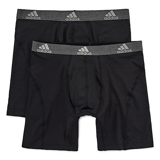 2 Pack adidas Relaxed Performance climalite Boxer Briefs (Multi Color)
