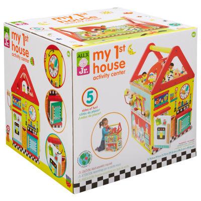 ALEX TOYS Alex Jr My First House Activity Center Interactive Toy - Unisex