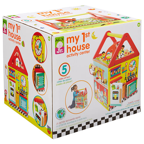 ALEX TOYS Alex Jr My First House Activity Center Interactive Toy - Unisex