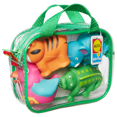 ALEX TOYS Rub A Dub Bath Squirters Jungle 4-pc. Toy Playset - Unisex