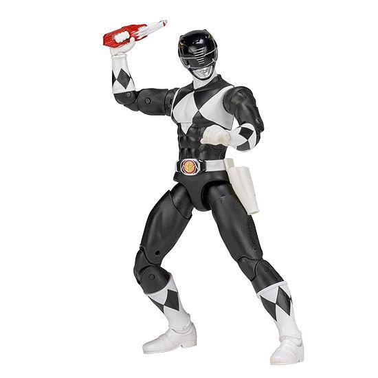 Power Rangers Legacy Mighty Morphin Action Figure Black Ranger