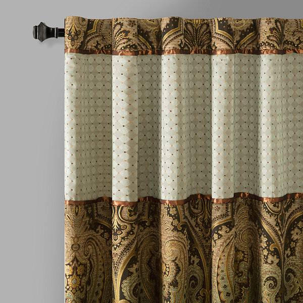 Canovia Springs Rod-Pocket Curtain Panel