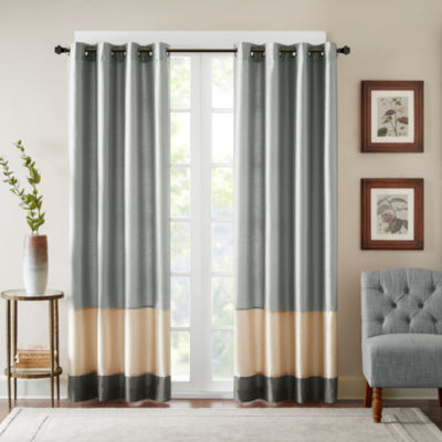 Conner Grommet-Top Curtain Panel