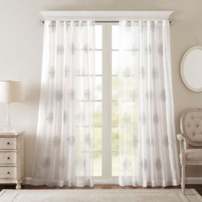 Bombay Massa Rod Pocket/ Back Tab Curtain Panel