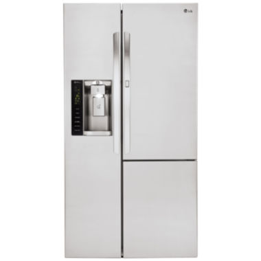 LG ENERGY STAR® 26.1 cu. ft. Side-by-Side Refrigerator with Door-in-Door™ Design
