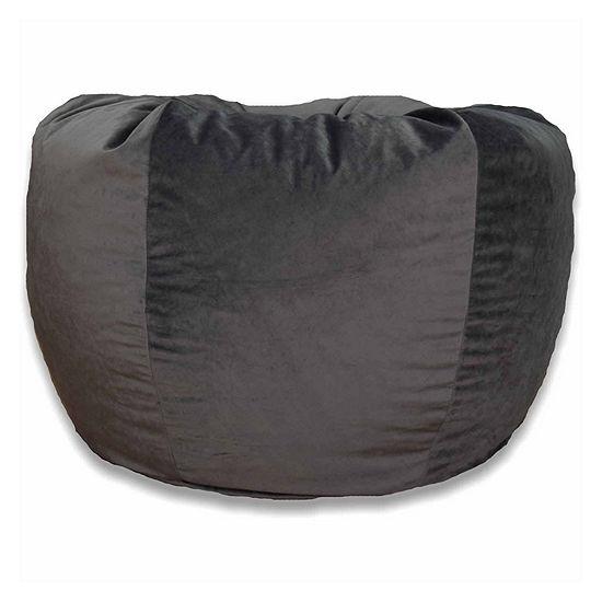 Velvet Bean Bag Chair