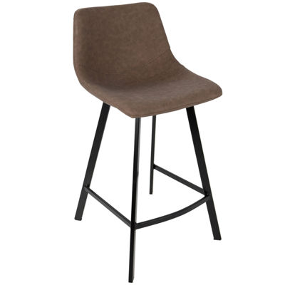 Outlaw Industrial Counter Stools by LumiSource - Set of 2