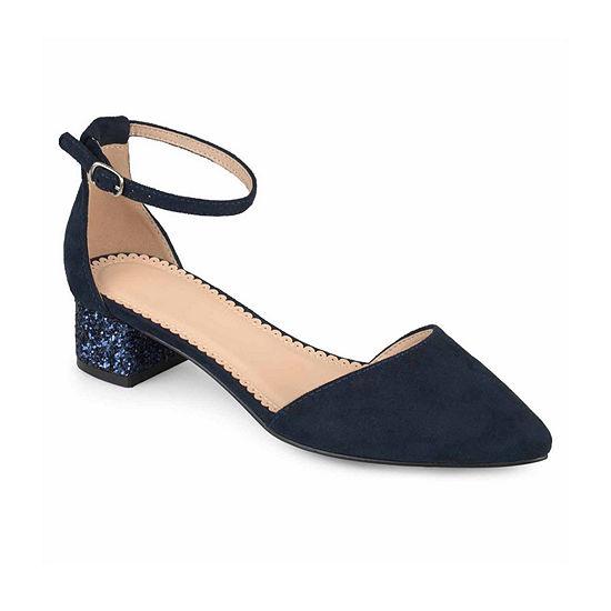Journee Collection Womens Maisy Pumps Block Heel