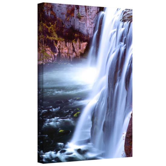 Brushstone Mesa Falls Morning Gallery Wrapped Canvas Wall Art