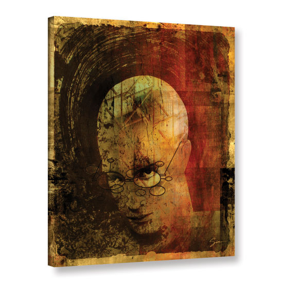 Brushstone Metro Brain Gallery Wrapped Canvas WallArt