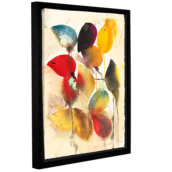 Brushstone Mice Gallery Wrapped Floater-Framed Canvas Wall Art