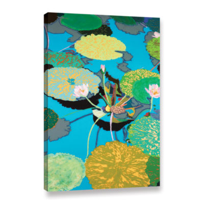 Brushstone Michelle's Secret Pond Gallery WrappedCanvas Wall Art