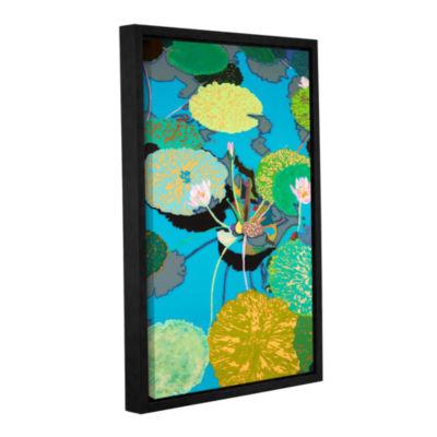 Brushstone Michelle's Secret Pond Gallery WrappedFloater-Framed Canvas Wall Art