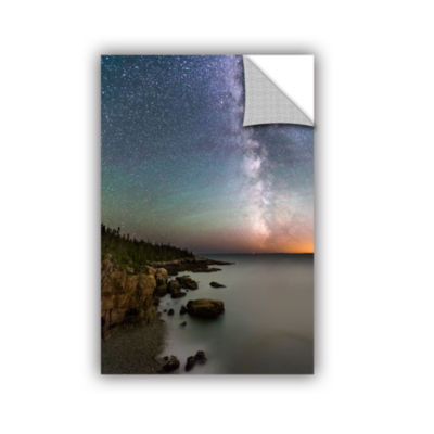 Brushstone Milky Way Acadia National Park Removable Wall Decal