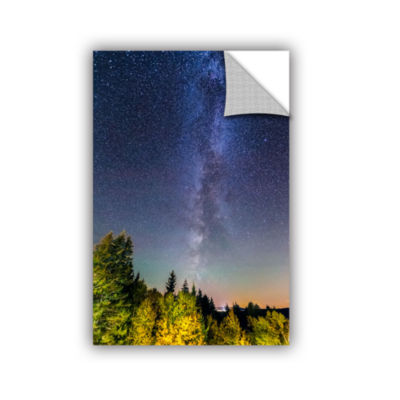 Brushstone Milky Way In Maine 2 Removable Wall Decal