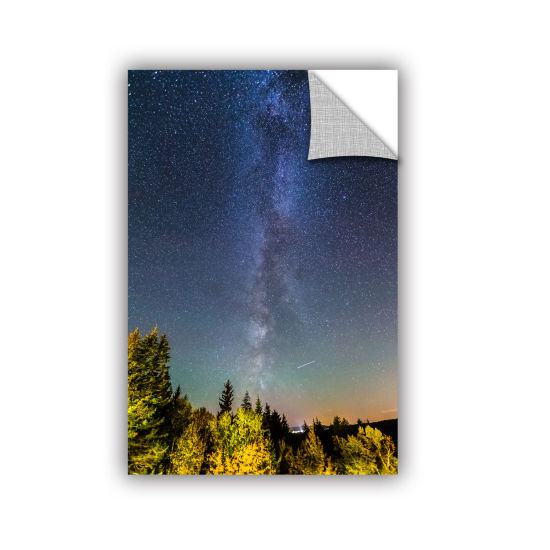 Brushstone Milky Way In Maine Removable Wall Decal
