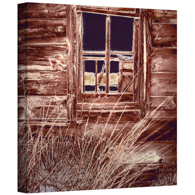 Brushstone Miners Cabin Gallery Wrapped Canvas Wall Art