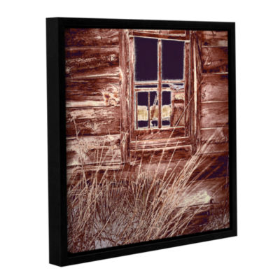 Brushstone Miners Cabin Gallery Wrapped Floater-Framed Canvas Wall Art