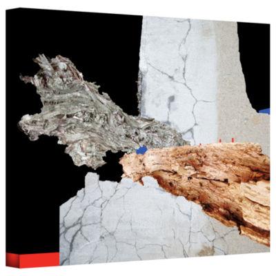 Brushstone Minimum Trade Gallery Wrapped Canvas Wall Art