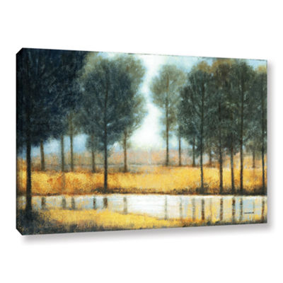 Brushstone Mirror Creek Gallery Wrapped Canvas Wall Art