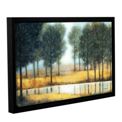 Brushstone Mirror Creek Gallery Wrapped Floater-Framed Canvas Wall Art
