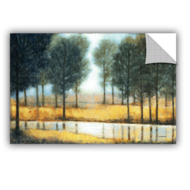 Brushstone Mirror Creek Removable Wall Decal