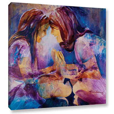 Brushstone Mirror Gallery Wrapped Canvas Wall Art