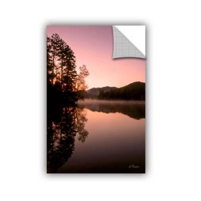 Brushstone Mirror Lake Lake Placid Removable WallDecal