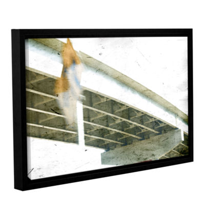 Brushstone Misdirect Gallery Wrapped Floater-Framed Canvas Wall Art