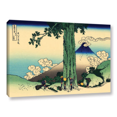 Brushstone Mishima Pass In Kai Province Gallery Wrapped Canvas Wall Art