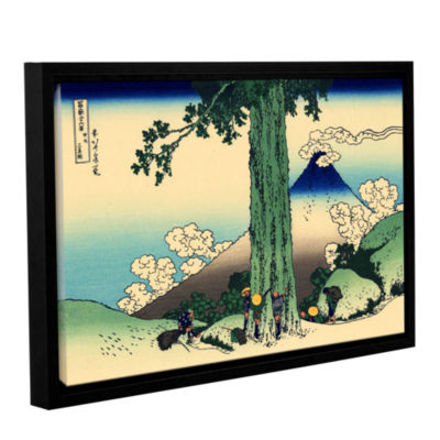 Brushstone Mishima Pass In Kai Province Gallery Wrapped Floater-Framed Canvas Wall Art