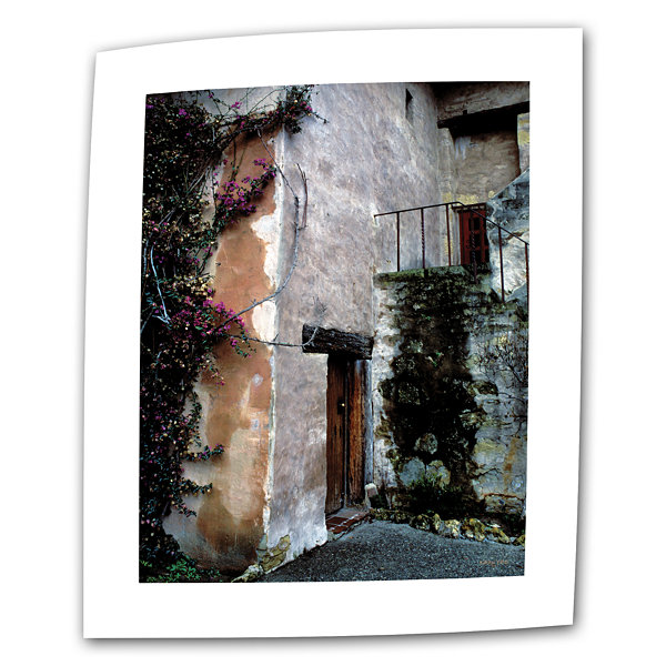 Brushstone Mission Bougainvillea Canvas Wall Art