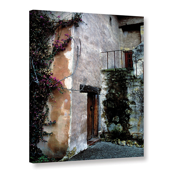 Brushstone Mission Bougainvillea Gallery Wrapped Canvas Wall Art