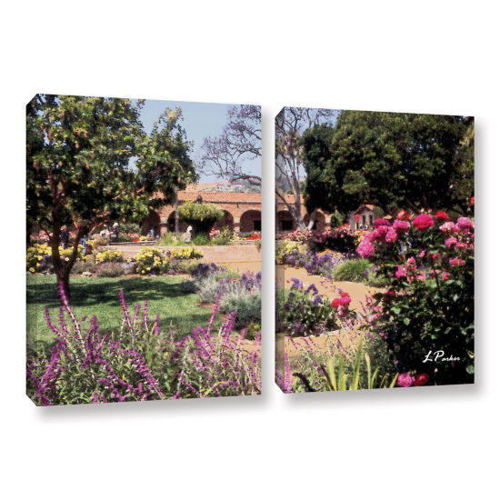 Brushstone Mission San Juan Capistrano II 2-pc. Gallery Wrapped Canvas Wall Art