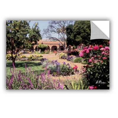 Brushstone Mission San Juan Capistrano II Removable Wall Decal