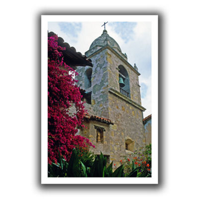 Brushstone Mission Tower Canvas Wall Art