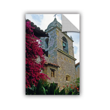 Brushstone Mission Tower Removable Wall Decal