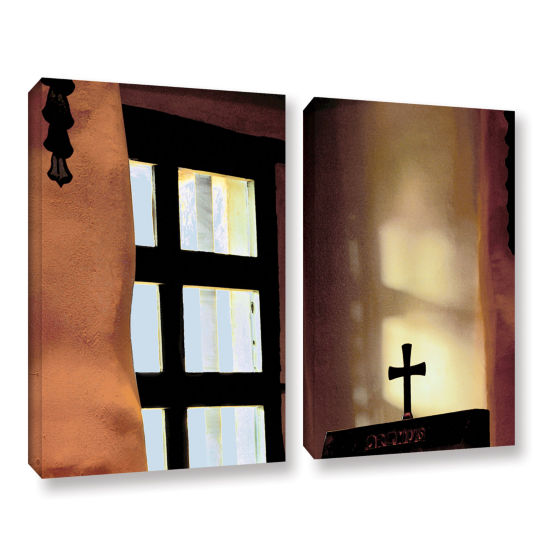 Brushstone Misson Light 2-pc. Gallery Wrapped Canvas Wall Art