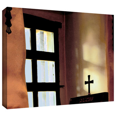 Brushstone Misson Light Gallery Wrapped Canvas Wall Art