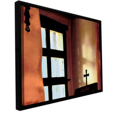 Brushstone Misson Light Gallery Wrapped Floater-Framed Canvas Wall Art