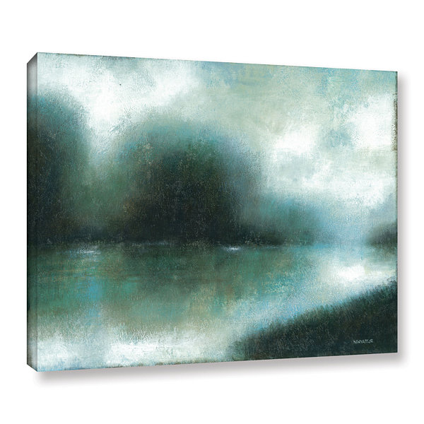 Brushstone Mist Of The Dawn Gallery Wrapped CanvasWall Art