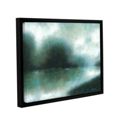 Brushstone Mist Of The Dawn Gallery Wrapped Floater-Framed Canvas Wall Art