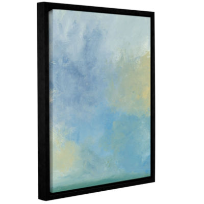 Brushstone Misty Sky Gallery Wrapped Floater-Framed Canvas Wall Art