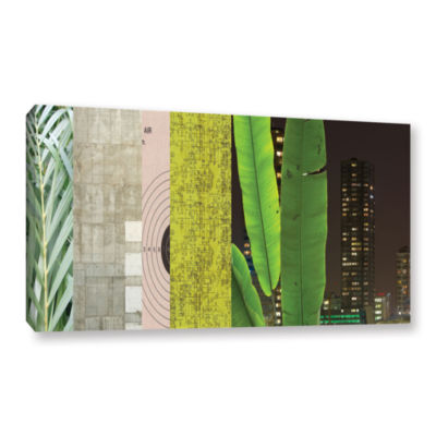Brushstone Mixed Industry I Gallery Wrapped CanvasWall Art